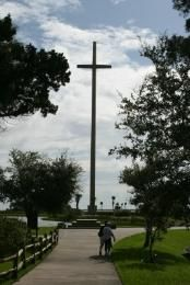 The Great Cross in Mission Nombre de Dios - St. Augustine, Florida