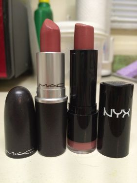 Twig by MAC on the left; B52 by NYX on the right