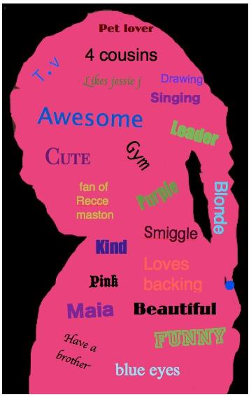 Verjaardagskalender met meisje kenmerken