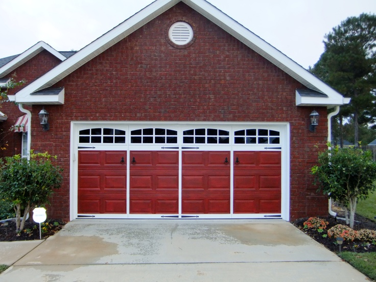 Best 25 Red garage door ideas on Pinterest