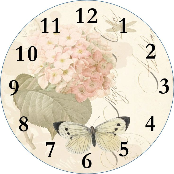 Best Clock Face Images On   Clock Faces Vintage