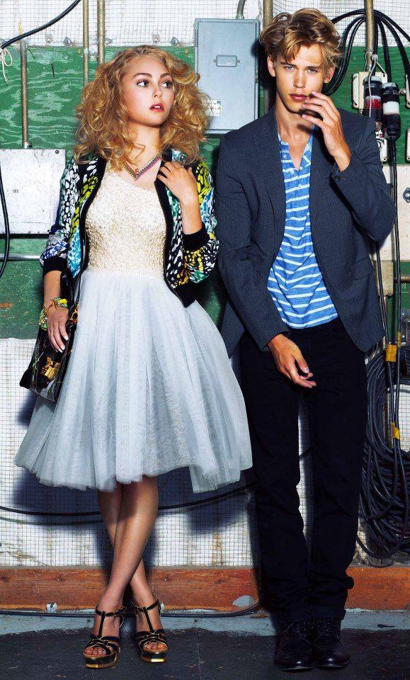 Carrie and Sebastian