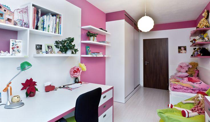 Dětský pokoj pro dceru