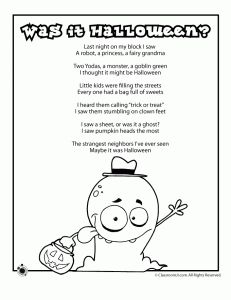 Halloween Poems at Classroom Jr - - Pinned by #PediaStaff.  Visit http://ht.ly/63sNt for all our pediatric therapy pins