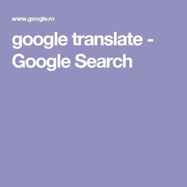 google translate - Google Search