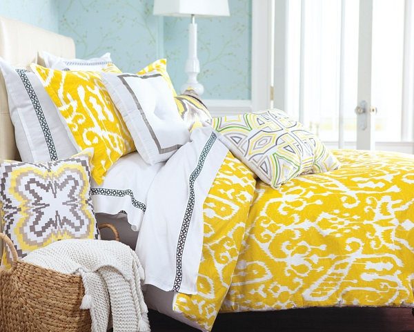 Trina Turk Trina Turk Ikat Bedding Collection @ belk.com #belk #bedding