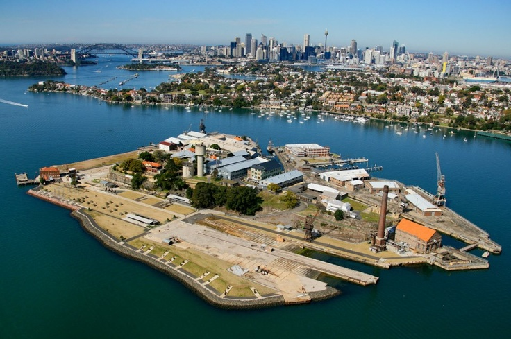 Cockatoo Island - Sydney - Australia - was once a convict settlement and a large shipbuilding yard......