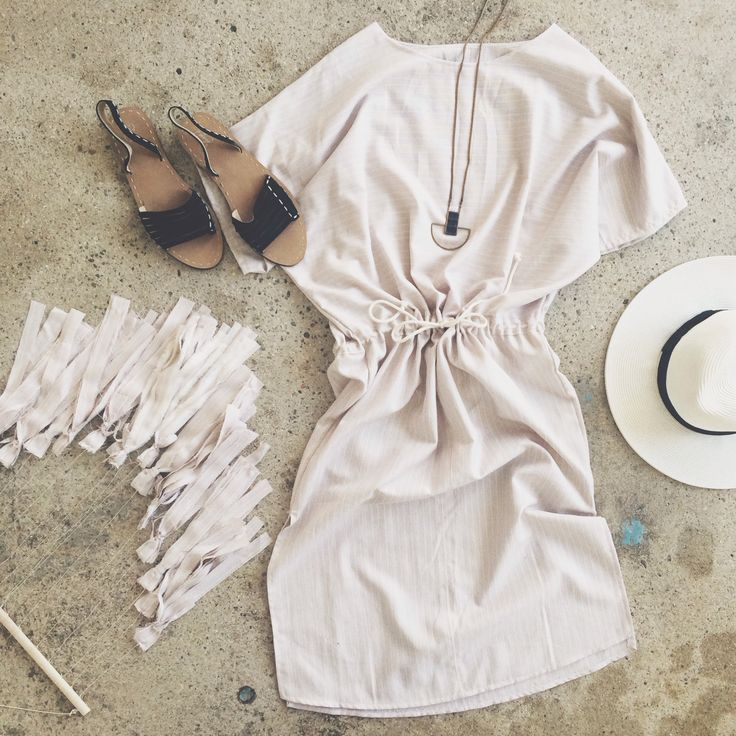 Pin to Win! Follow us + repin this pin for your chance to win this one of a kind prototype dress and matching tassletry!  A dress like this would be so nice after baby boy arrives! And I've wanted this tassel art since forever.
