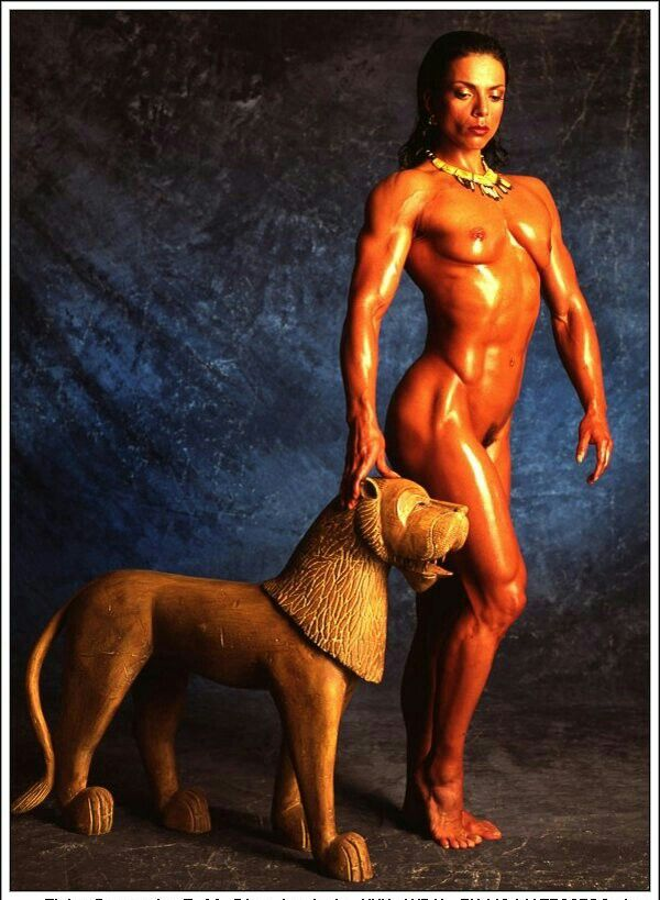 from Jon bodybuilder female nude pin up