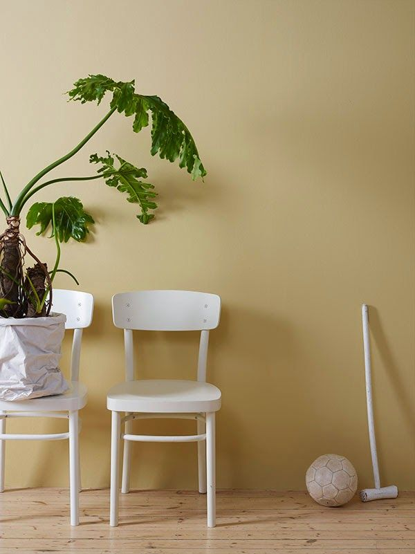 Wall: LADY Balance, Farge: LADY 10246 Velvet Chair: LADY Supreme Finish, LADY 1624 Letthet | Foto © Siren Lauvdal, Styling: Jannicke Kråkvik & Alessandro D'Orazio for Jotun/Lad | via Anette Willemine