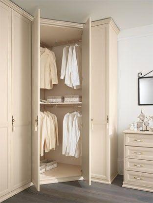 ~ Living a Beautiful Life ~ Corner wardrobe