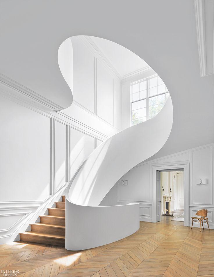 Best 11 Stunning Spiral Staircases Minimalist House Design 400 x 300