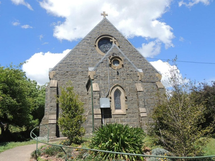 St Mark, Evangelist Anglican Church Millthorpe, NSW, one of 3 churches in Millthorpe Cemetery