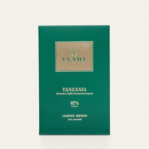 TANZANIA, KILOMBERO KAFFIR LIME AND LEMONGRASS 67% | DARK CHOCOLATE