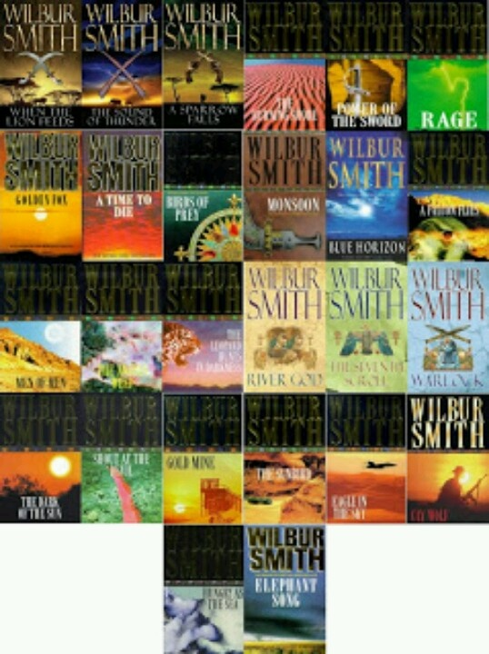 Wilbur Smith - all of them? Almost!