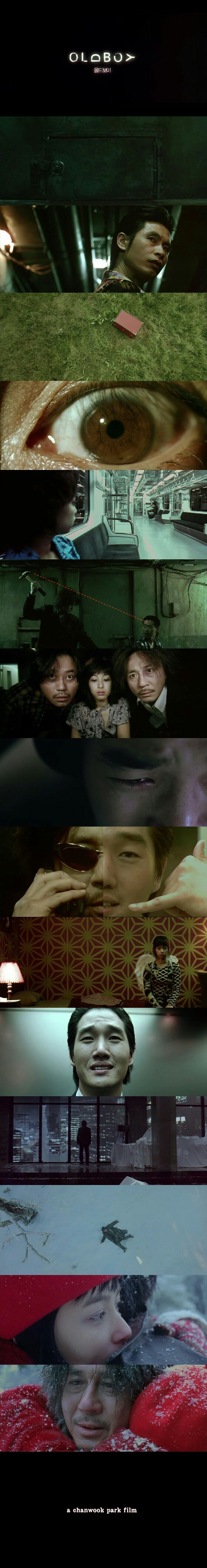 Old Boy (2003) Directed by Park Chan-wook.