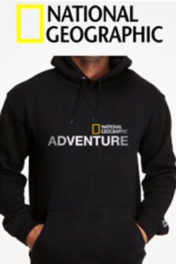 Jaket national geographic adventure