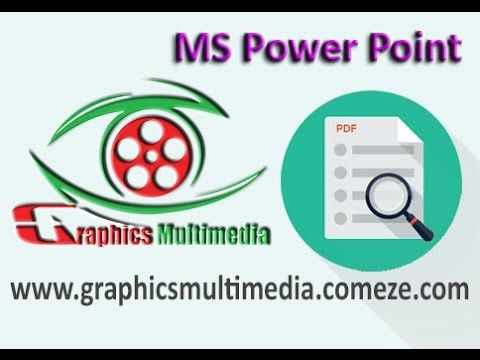 MS Power Point Part 01