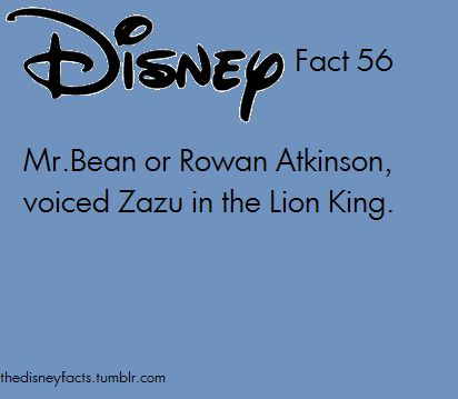 Disney Fact 56  I knew that!!!! I feel so smart now :D