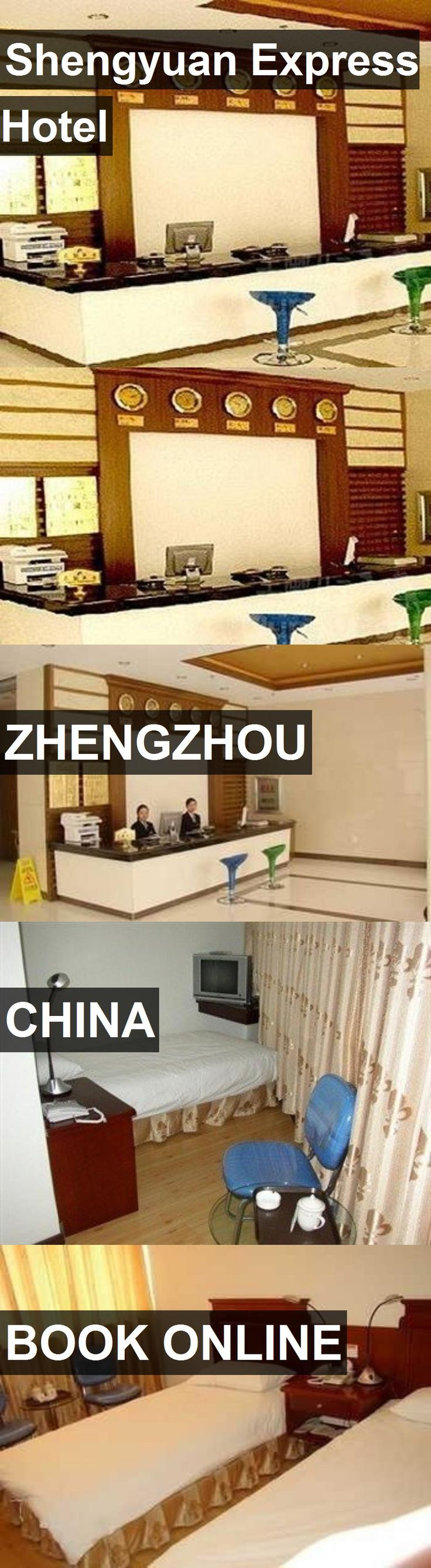Shengyuan Express Hotel in Zhengzhou, China. For more information, photos, reviews and best prices please follow the link. #China #Zhengzhou #travel #vacation #hotel