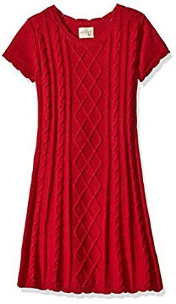 Scout + Ro Girls' Cable Knit Sweater Dress,... by Scout + Ro for $34.50 http://amzn.to/2fUoCHH