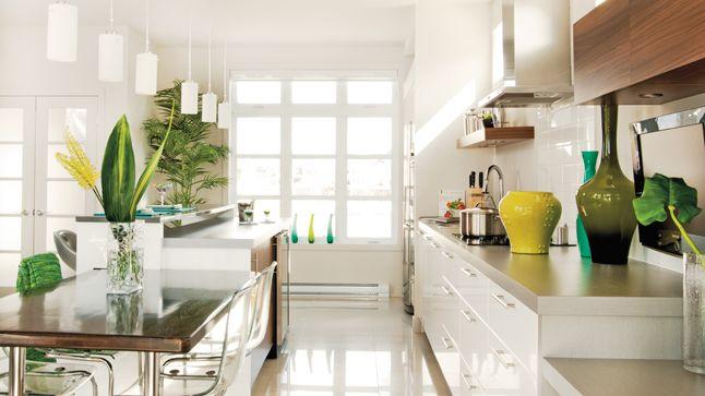 Clarté assurée dans la cuisine!  Photo: Angus McRitchie