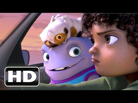 HOME Movie Trailer (Animation - 2015) - YouTube