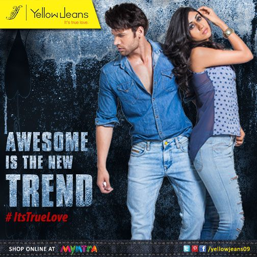 This festive, be nothing but AWESOME... You are a hero of your sister & eye candy for your girl..  Be Awesome Always!!  #yellowJeans #itsturelove #fashion #style #quote