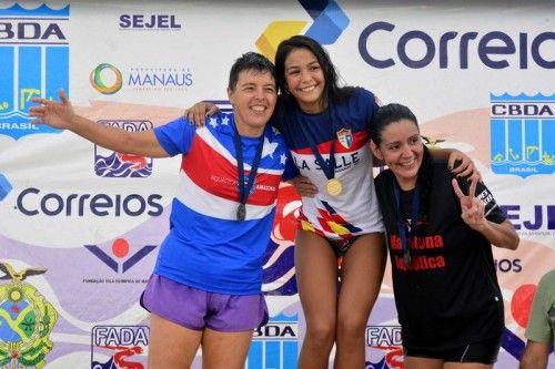 Circuito de Maratonas Aquáticas Norte/Nordeste revela Elysa Oliveira e Leonardo Brasil como campeões absolutos