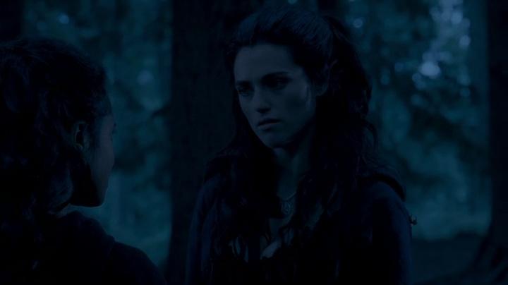 Morgana meeting Gwen