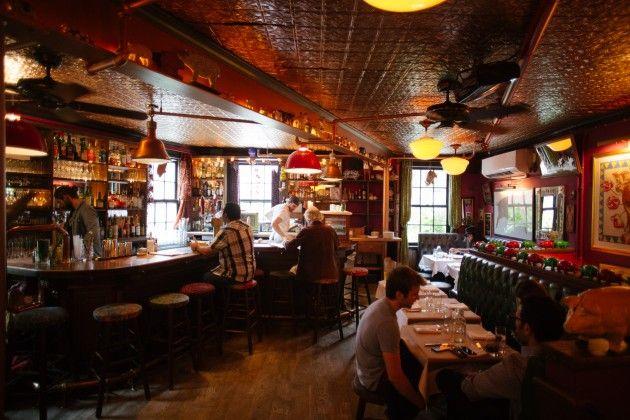 the spotted pig west village new york restaurant. Black Bedroom Furniture Sets. Home Design Ideas