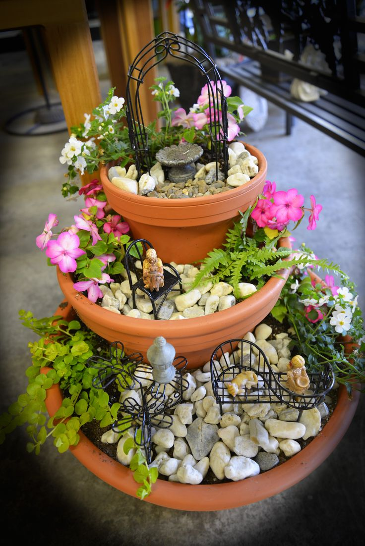 30 Simple But Beautiful Fairy Garden Container Ideas - HomeCoach Design  Ideas