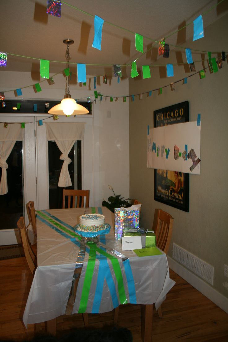 17 best images about duct tape party decorations on for Duct tape bedroom ideas