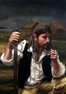 Joseph Broussard (1702–1765), also known as Beausoleil, was a leader of the Acadian people in Acadia; later Nova Scotia and New Brunswick. Broussard organized a resistance movement against the forced Expulsion of the Acadians. In 1765, After the loss of Acadia to the British, he eventually led the first group of Acadians to southern Louisiana in present-day United States. His name is sometimes presented as Joseph Gaurhept Broussard; this is likely the result of a transcription error.