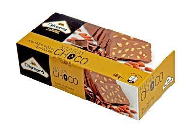 Халва с шоколадом и миндалём (Греция) http://eda-eko.ru/