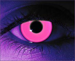 SALE Blacklight Rave Pink Contact Lenses / pair Non prescription