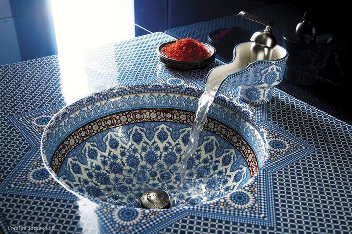Современный интерьер в марокканский стиле