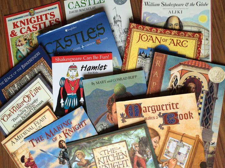 Middle Ages: Our Favorite Picture Books