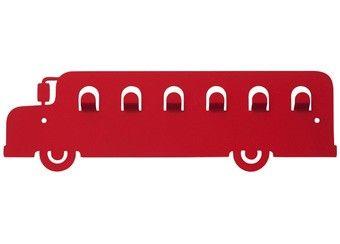 grappige bus kapstok J.I.P | kinderen-shop Kleine Zebra