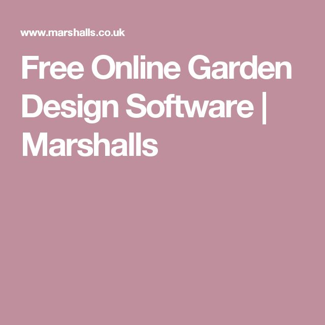 17 Best ideas about Free Garden Design Software on