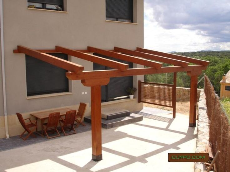 M s de 25 ideas incre bles sobre porches de madera en - Porches de madera en madrid ...