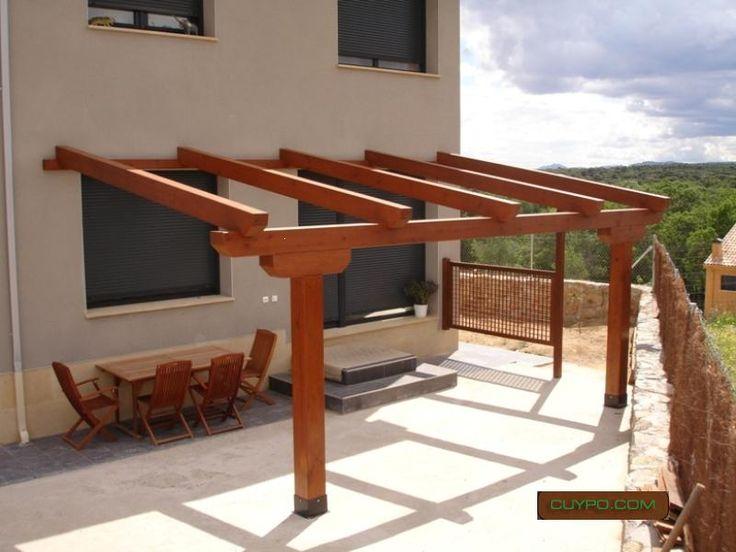 Las 25 mejores ideas sobre pergolas de madera en pinterest for Ideas para terrazas baratas