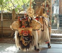 Barong, Bali traditional dance at Bali, Indonesia - Places I have been
