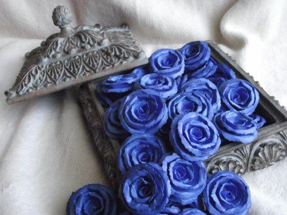 Wedding Paper Flowers...200 Piece Set of by JudeAlyssaMarkus