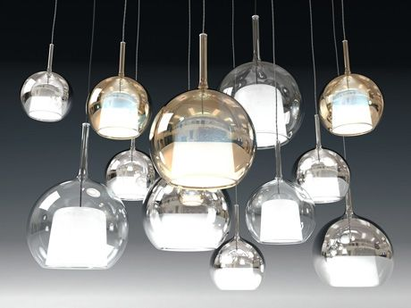 Penta Glo pendant light 3d model | Carlo Colombo