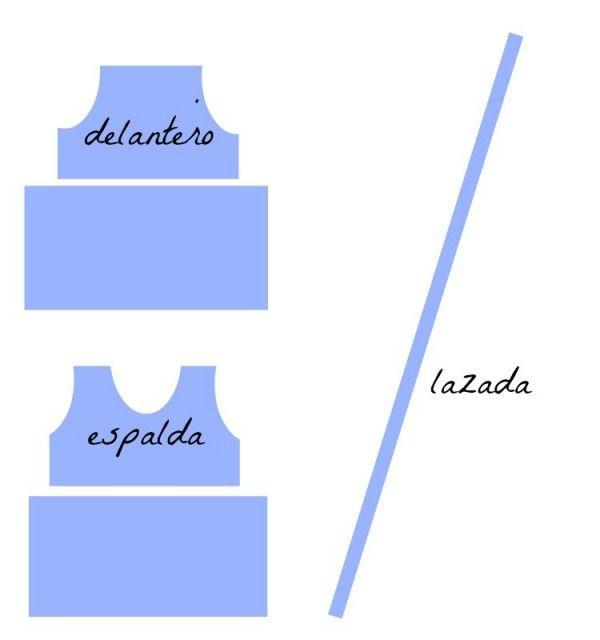 Схема лучших проймы белье