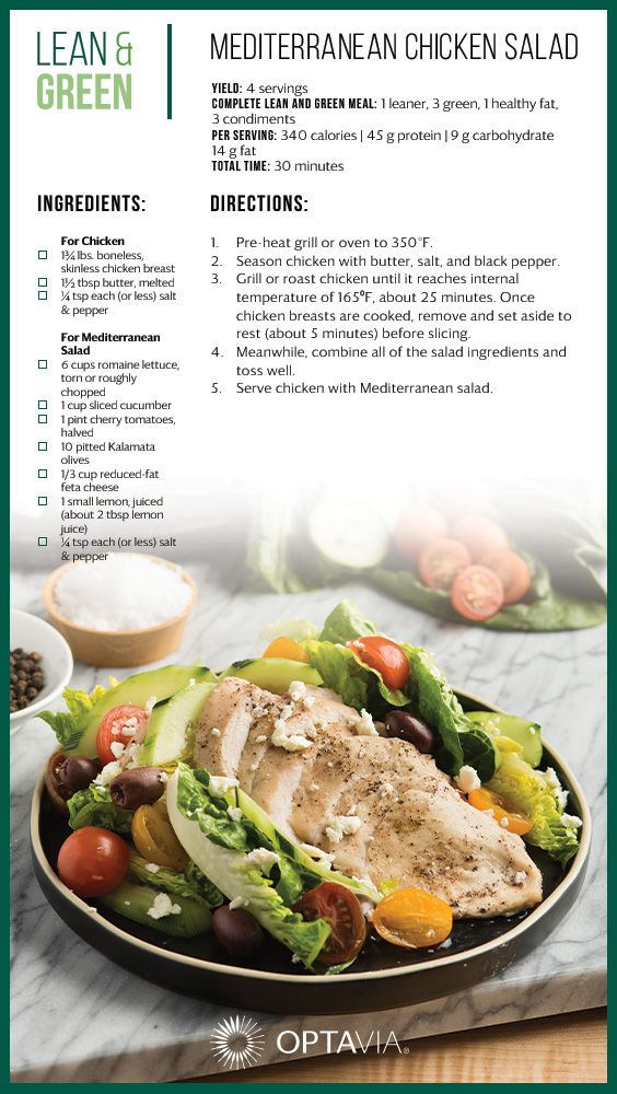 Pin By Optavia On 2019 Optavia Lean And Green Recipes Developed By The Culinary Institute Of