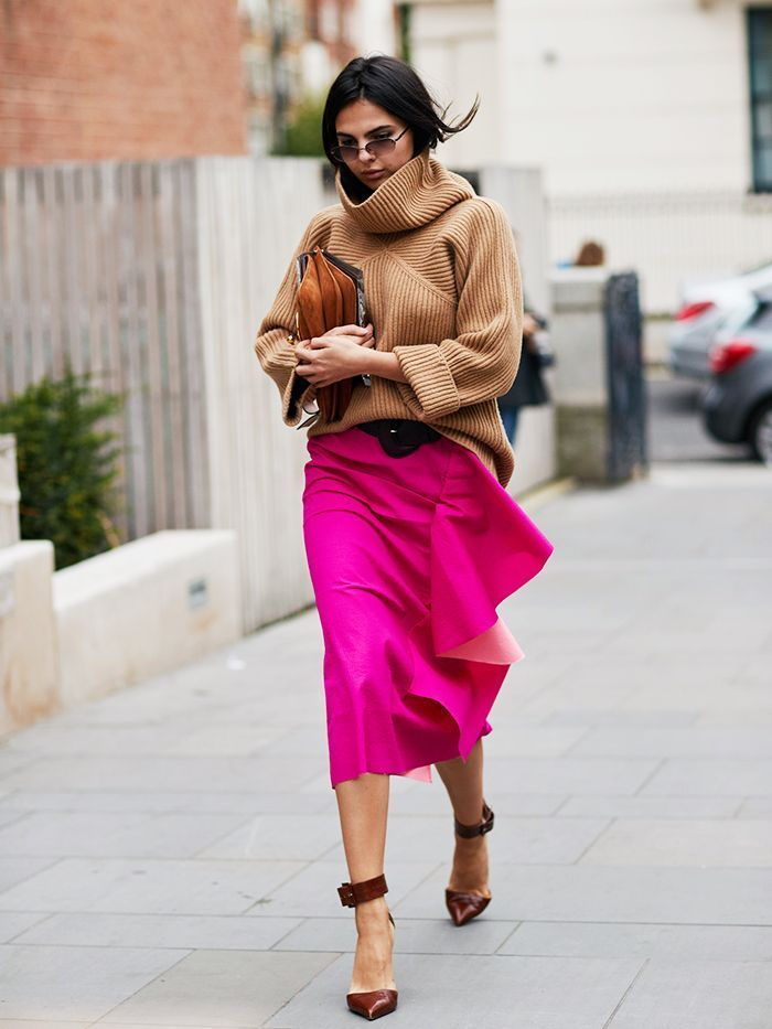Check out the best street style looks from September 2017's London Fashion Week.