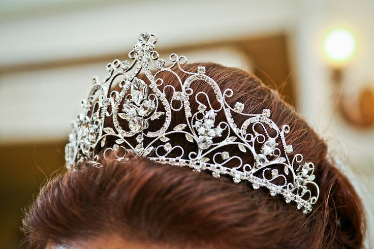 Complete your regal look with a dazzling tiara #princess #wedding #jewels