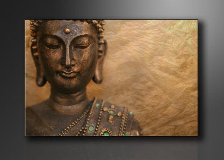 Voor de mensen die niet zo houden van 3-luik of 5-luik schilderijen hebben wij ook Boeddha 1-luik schilderijen zoals deze prachtige bronze Boeddha. Tip: Hang dit kunstwerk boven de bank in de woonkamer, het straalt echte rust uit!